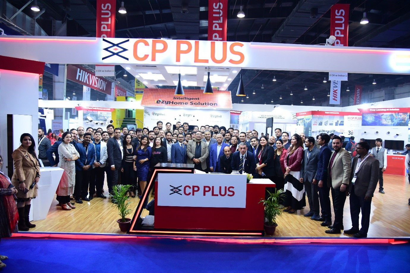 CP PLUS Cutting-edge Security Solutions Draw Attention of Many at IFSEC India 2019